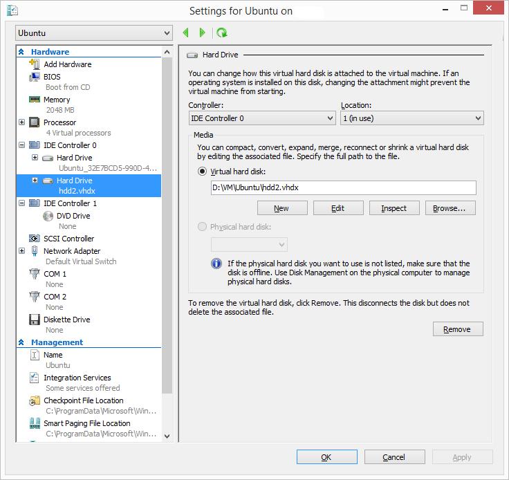Mount (Automount) VHD partition in Ubuntu host | Tech Blog