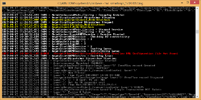 Tail command for Windows with Colors | Tech Blog